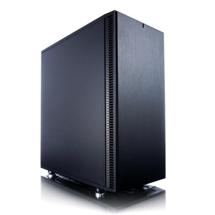 Fractal Design Boîtier PC Define C - Noir - Moyen Tour - Sans alimentation