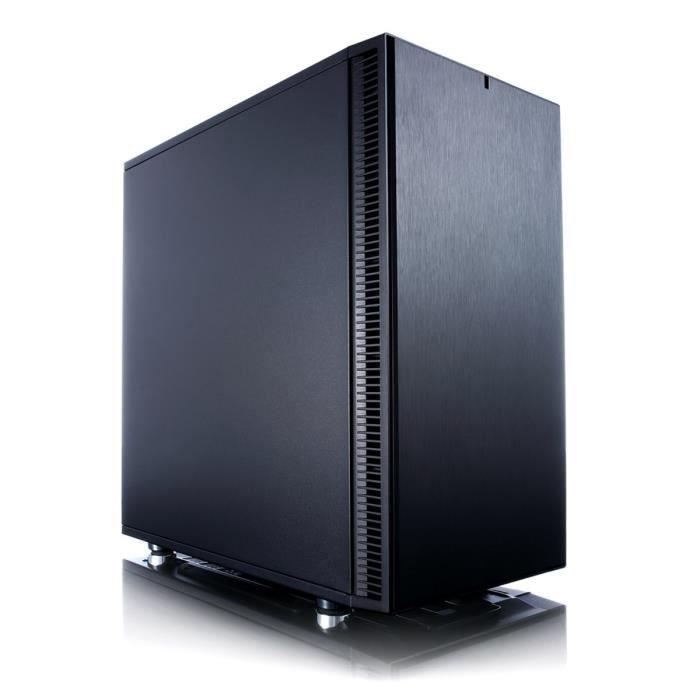 Fractal Design Boîtier PC Define Mini C - Noir - Moyen Tour - Sans alimentation