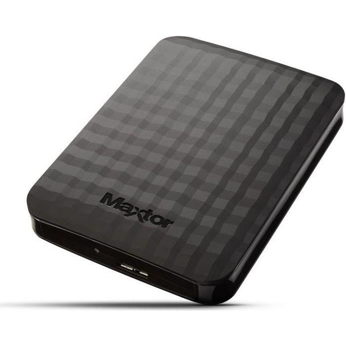 MAXTOR M3 Disque Dur Externe - 2To - USB 3 - 2.5 pouces