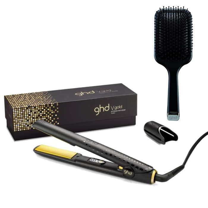 Pack ghd styler gold classic brosse plate