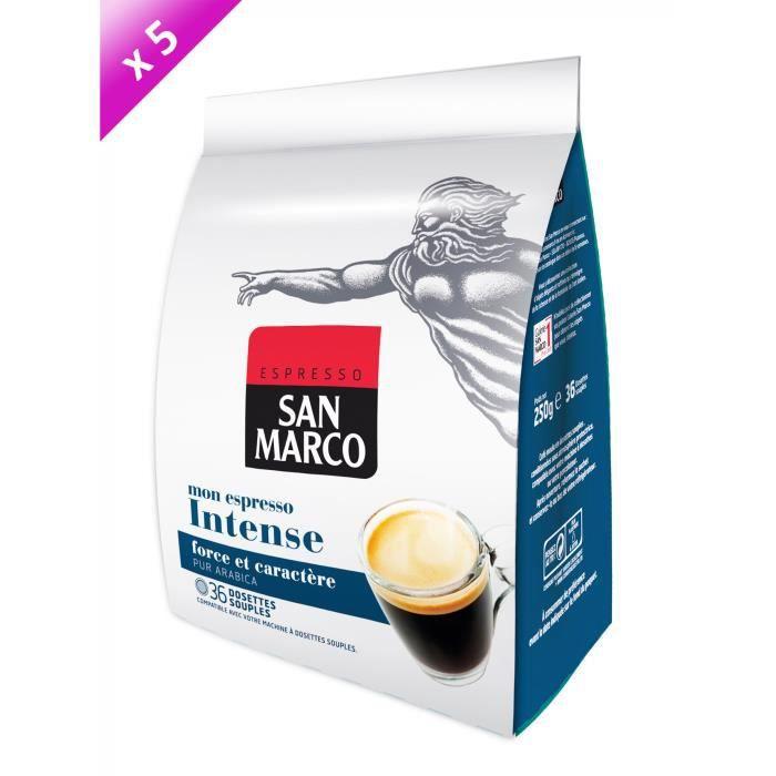 180 dosettes SAN MARCO Espresso Intence Compatible Senseo