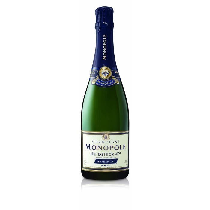 Champagne heidsieck monopole 1er cru brut