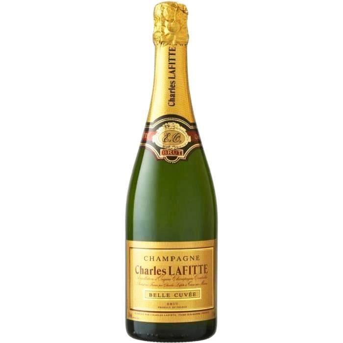 Champagne charles lafitte belle cuvée brut