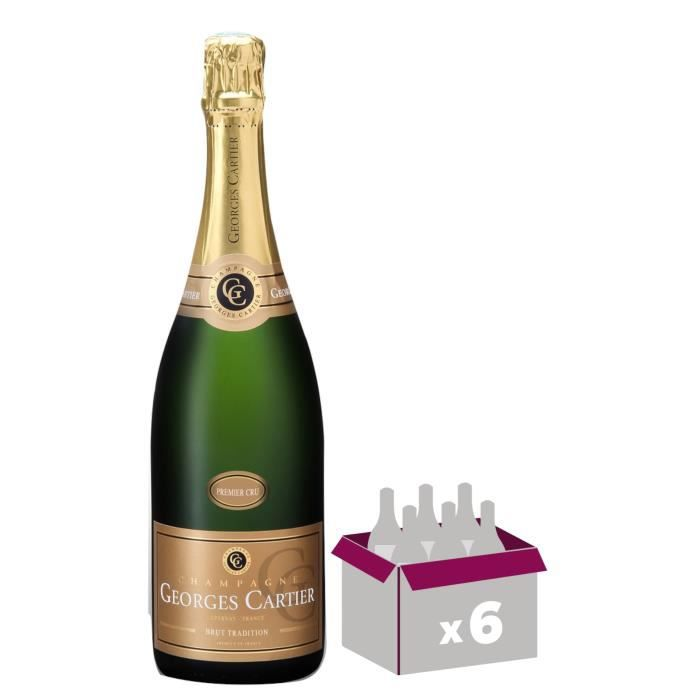 Champagne georges cartier tradition 1er cru 75cl