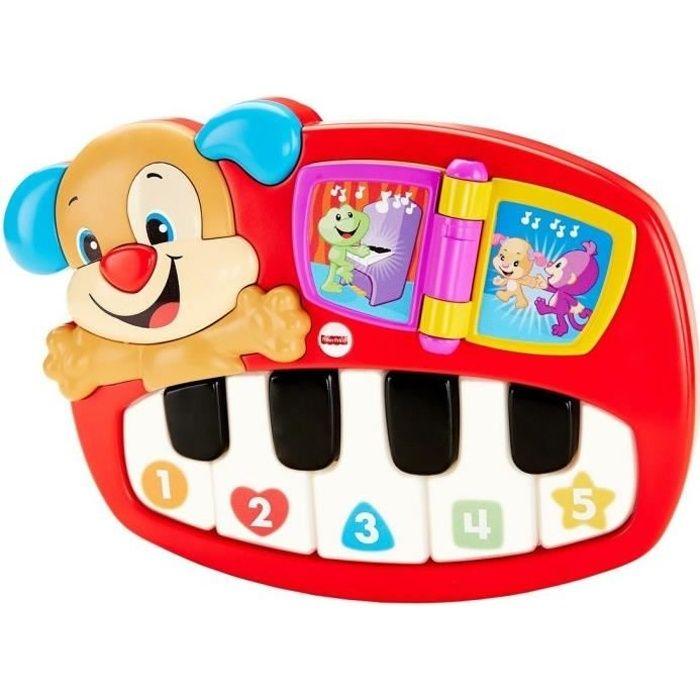 FISHER-PRICE - Le Piano De Puppy - Instrument de musique pour enfant
