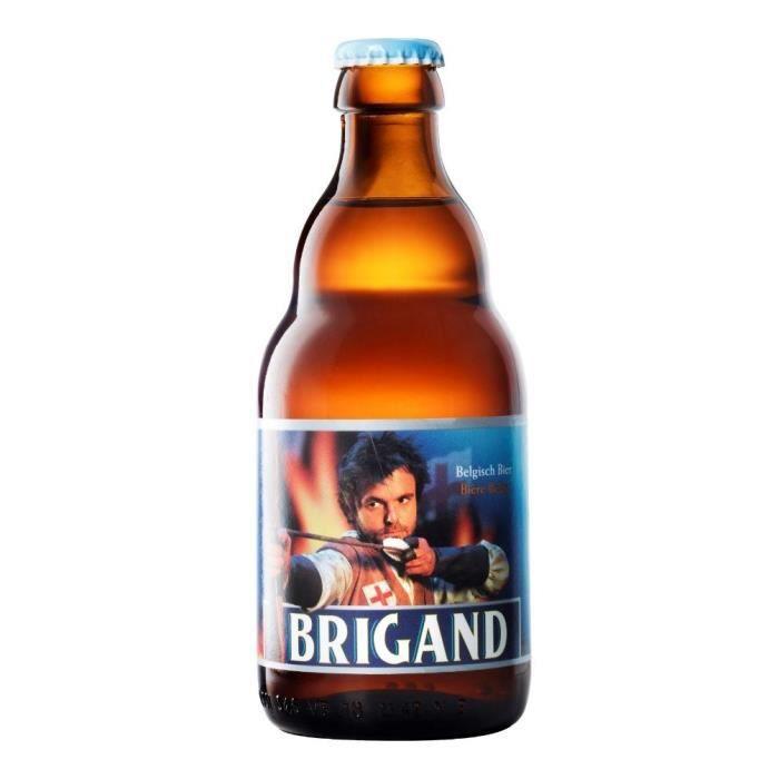 BRASSERIE VAN HONSEBROUCK - BRIGAND 1798 Bière Ambrée - 33 cl - 9 %