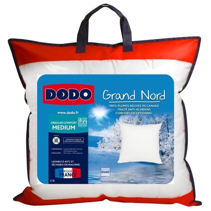 DODO Oreiller GRAND NORD 65x65cm
