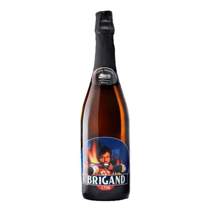 BRASSERIE VAN HONSEBROUCK - BRIGAND 1798 Bière Ambrée - 75 cl - 9 %