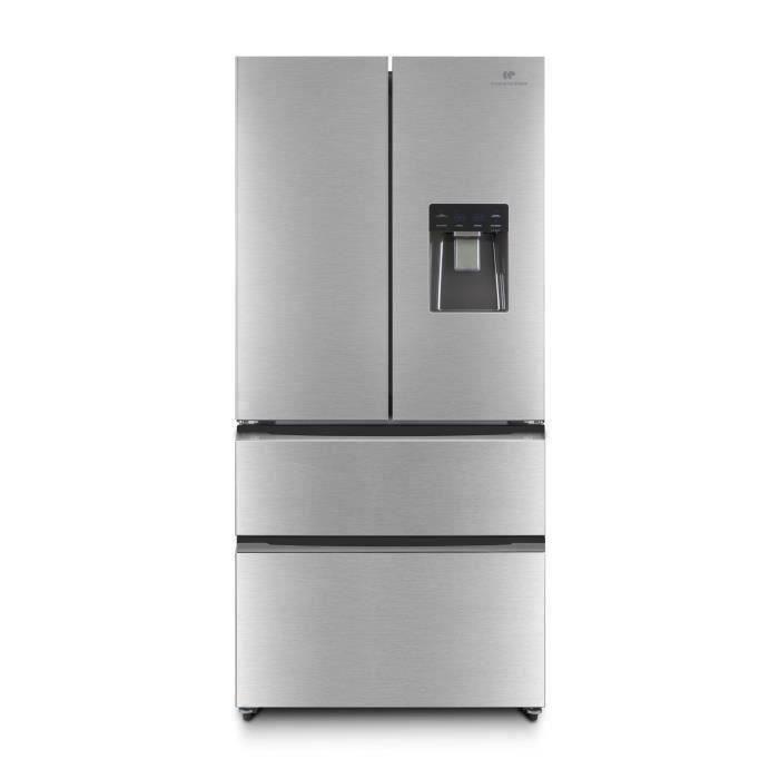 CONTINENTAL EDISON CERAF536DIX Réfrigérateur multi portes-536 L ( 350+186 )-Froid ventilé- Classe A