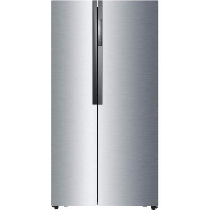 HAIER HRF-521DM6 - Réfrigérateur américain - 518L (341+177) - Froid ventilé - A+ - L 90,8cm x H 179c