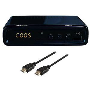 TAKARA SL99B Décodeur TNT HD 1080i + Câble HDMI 1,2m OFFERT