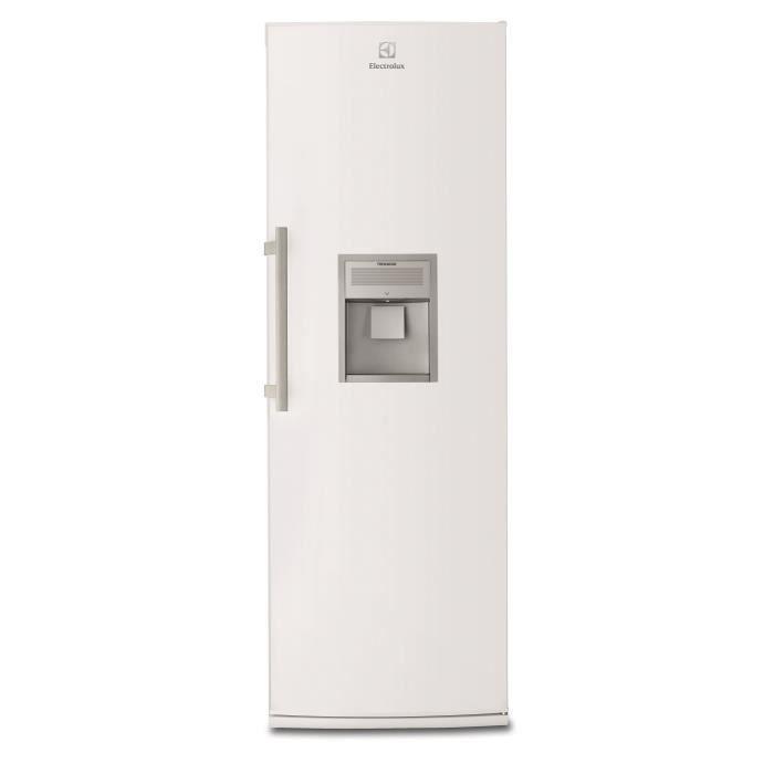 ELECTROLUX ERF4116DOW - Réfrigérateur 1 porte - 395L - Froid brassé - A++ - L 59,5cm x H 185,4cm - Blanc