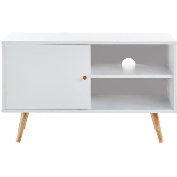 meuble tv scandinave moins cher milprix. Black Bedroom Furniture Sets. Home Design Ideas