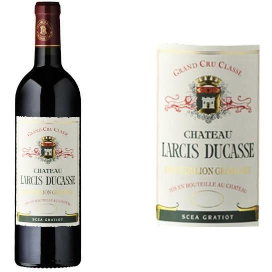 Château Larcis Ducasse - Grand Vin de Bordeaux - Saint Emilion Grand Cru Classé 2014 - Vin rougeVIN ROUGE