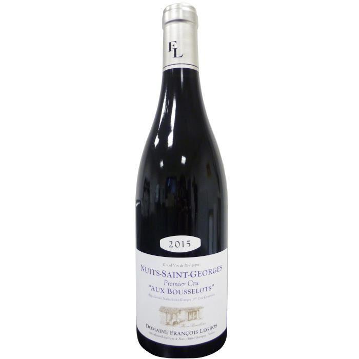 DOMAINE LEGROS 2015 Nuits Saint Georges 1er cru Les Bousselots Vin de Bourgogne - Rouge - 75 cl