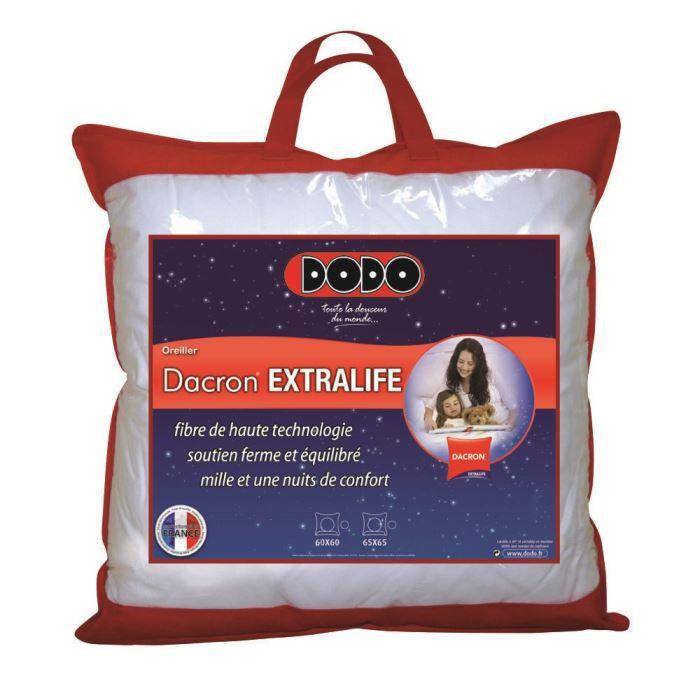 Oreiller DODO EXTRALIFE 65x65cm