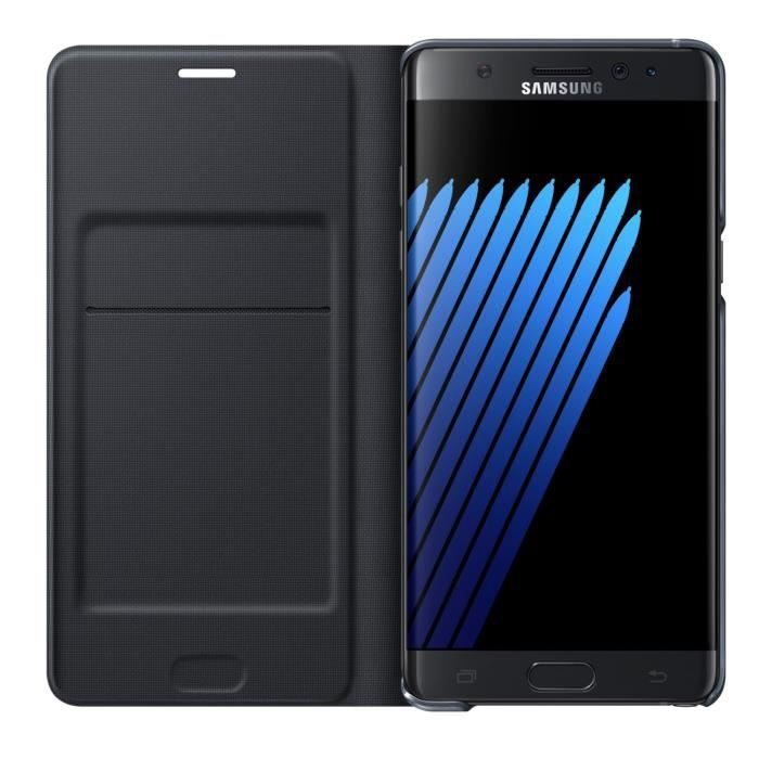 SAMSUNG LED View Cover Note 7 Noir
