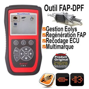AUTEL MaxiCheck Pro Outil de Diagnostic Vidange et Service Incluant EPB/ABS/SRS/SAS/TPMS/DPF