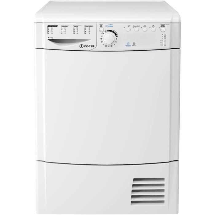Sèche linge frontal - Capacité 7kg - Pompe à chaleur - Programmation électronique - Classe A+SECHE-LINGE