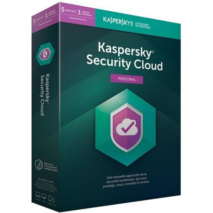 KASPERSKY Security Cloud Personal, 5 postes, 1 an
