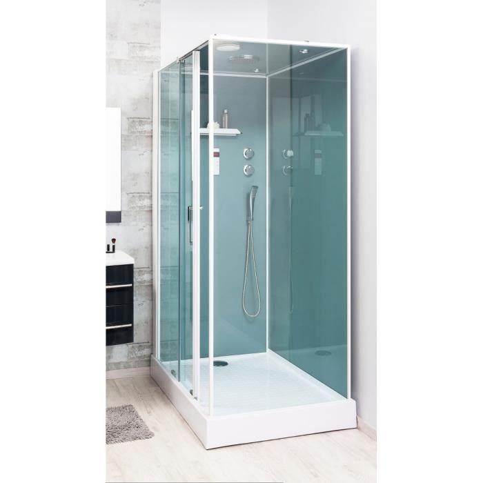 Cabine de douche Adely 90x120cm droite