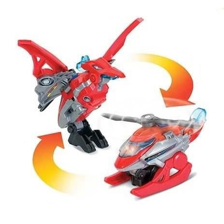 Switch & Go Dinos Mini - Helion, Le Pteranodon (Helicoptère)