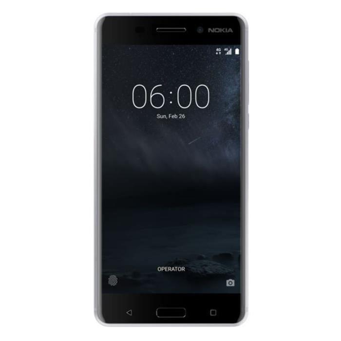 Nokia 6 Simple SIM Argent