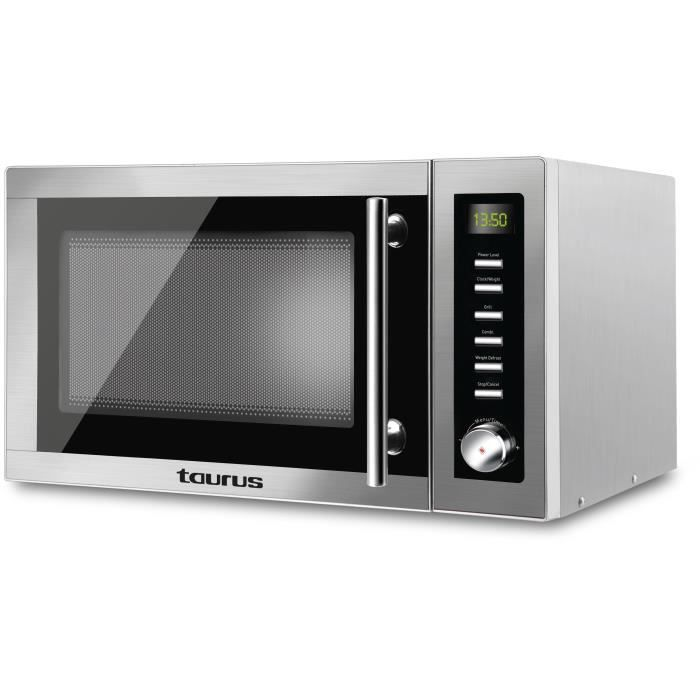 TAURUS Laurent-Micro ondes grill silver-25 L-900 W-Pose libre