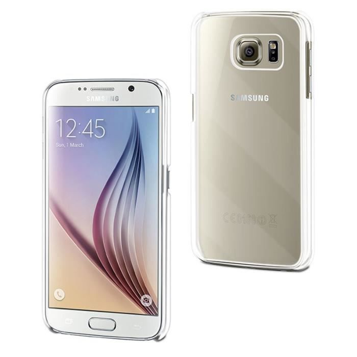 MUVIT Coque - Crystal - Pour Samsung Galaxy S7