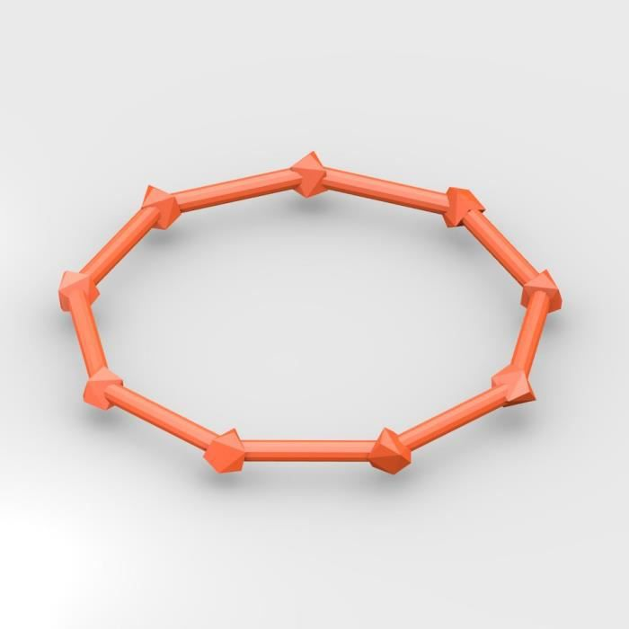 Envie de nouveautés dans vos bijoux ? Optez pour le bracelet W à personnaliser. CliquezBRACELET - GOURMETTE - JONC