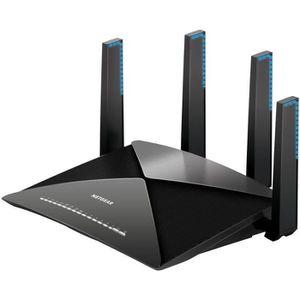NETGEAR R9000-100EUS Routeur Gigabit Wi-Fi AD7200 Nighthawk X10 7 ports Gigabit et 2 ports USB 3.0  Idéal pour le streaming 4K