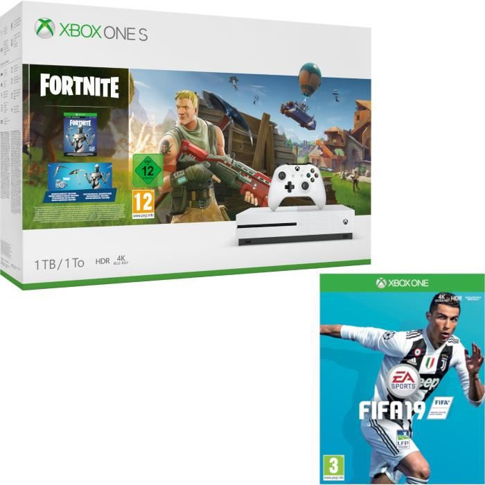 Xbox One S 1 To Fortnite + Fifa 19