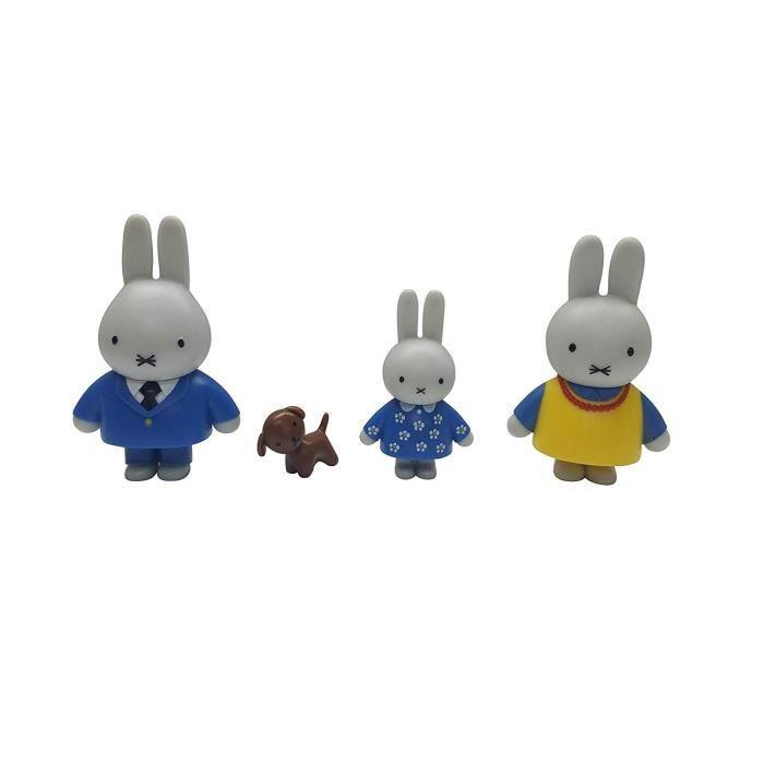 MIFFY Coffret La Fête d'Anniversaire de MIFFY (4 personnages et 2 accessoires)