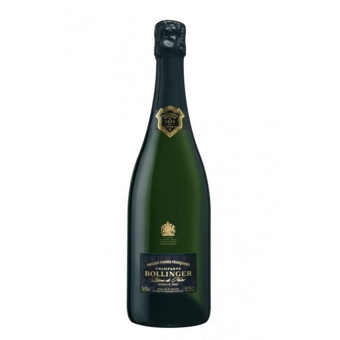Maison bollinger vielles vignes françaises 2005 champagne blanc de noirs