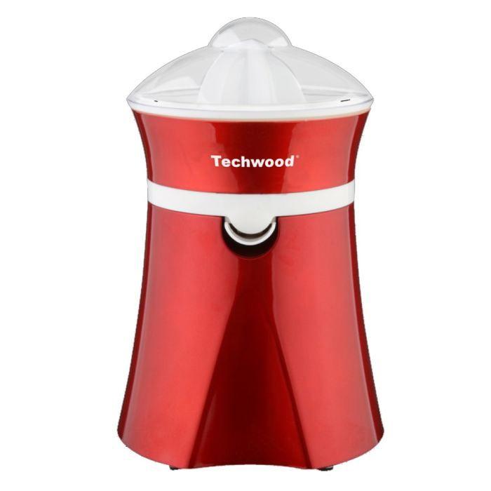 TECHWOOD TPF25 Presse-agrumes électrique - Rouge