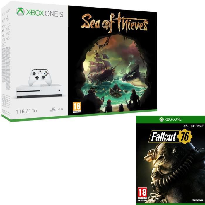 Xbox One S 1 To Sea of Thieves + Fallout 76