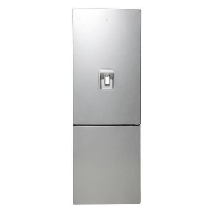 Congélateur bas - 318L (231+87) - Froid ventilé - A+ - Distributeur d'eau - L 59,5cm x H 185,5cm - SilverREFRIGERATEUR CLASSIQUE