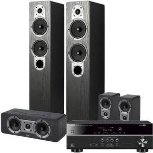 Pack YAMAHA HTR-2071 Amplificateur 5.1 4K UHD + JAMO S 426HCS3 Syst?me d'enceintes Home Cinema 5.0
