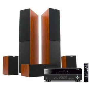 Pack YAMAHA RX-V383 Amplificateur Home cinéma + JAMO S526HCS Pack Enceintes 5.0