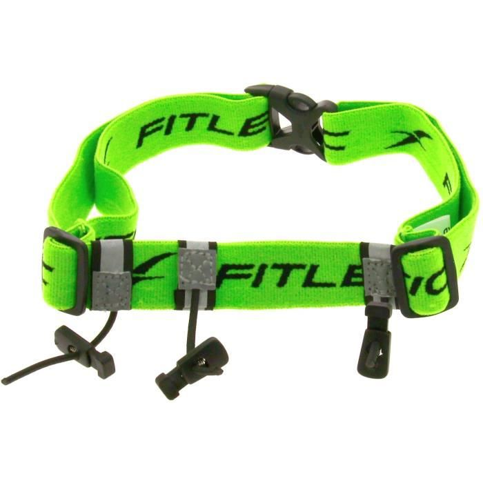 FITLETIC Ceinture porte dossard Fitletic - vert fluo