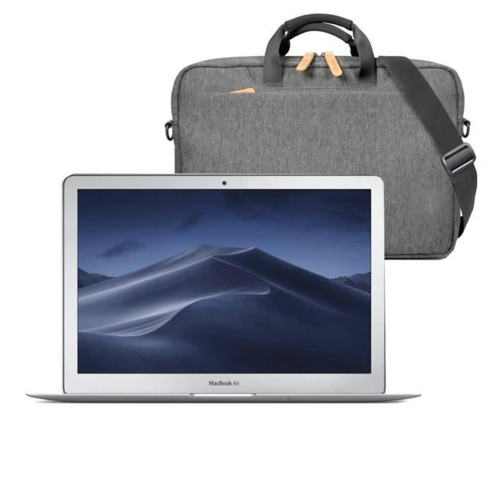 """Pack PC Portable Apple - 13,3"""" MacBook Air -128Go SSD - Argent + sacoche"""