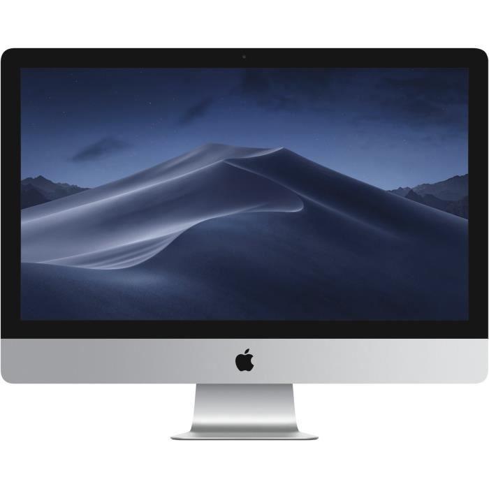 APPLE iMac - MNEA2FN/A - 27'' Retina 5K - 8 Go de RAM - Intel Core i5 3,5GHz - Stockage 1to Fusion Drive - Nouveauté