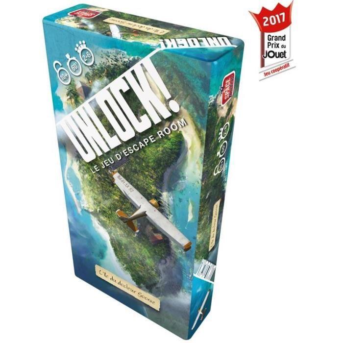 Unlock! est un jeu de cartes coopératif inspiré des escape rooms.JEU DE SOCIETE - JEU DE PLATEAU