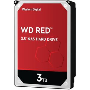 WESTERN DIGITAL Disque dur interne Red 3To 64Mo 3.5 - WD30EFRX