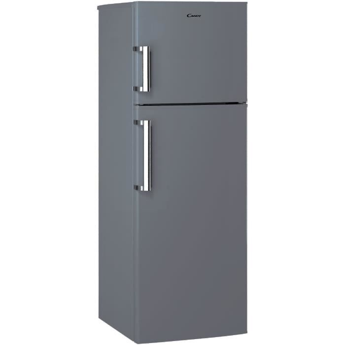 CANDY CCDS 6174 FSH - Réfrigérateur congélateur haut - 307L (231L + 76L) - Froid brassé - Classe A+