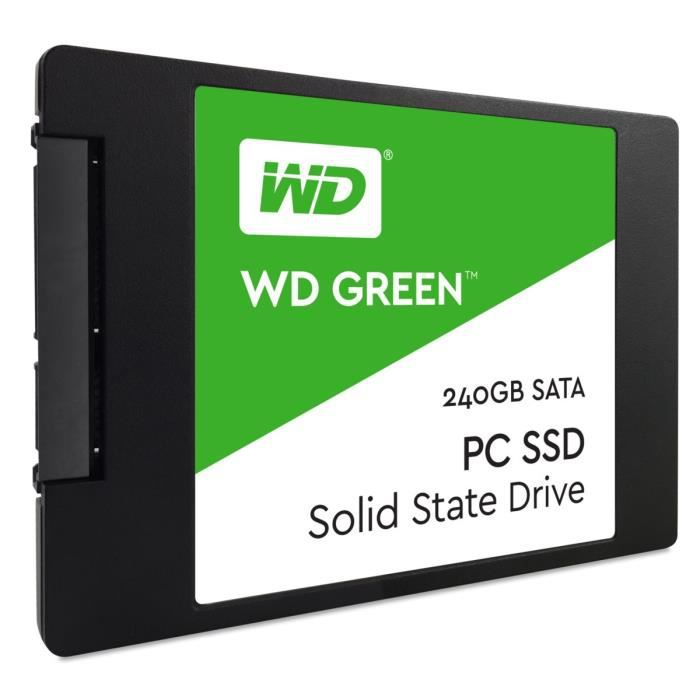 Western Digital SSD Green WDS240G1G0A - 240 Go - 2,5\