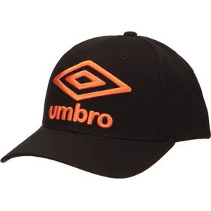 UMBRO Casquette Homme Uni - Noir / Orange