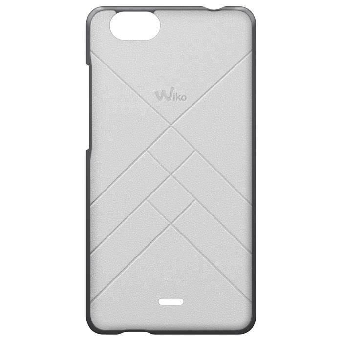 Wiko Coque Jetlines - Pulp 4G - Blanc