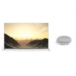 Kit CONTINENTAL EDISON TV OLED 139cm (55??) + GOOGLE Home Mini FR