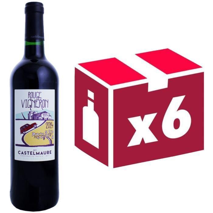 Rouge Vigneron - Corbières - 2016 - Vin rougeVIN ROUGE
